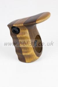 Left Side Wooden CameraGrip with RecTrigger