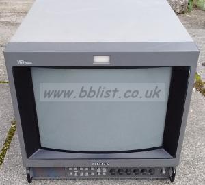 Sony pvm-1454QM 14  inch CRT colour monitor