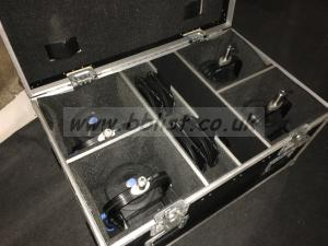 Flightcase of 4x Arri L5-Cs