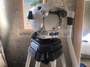 Vinten Tripod/Spreader with Vision 3 Pan & Tilt Head & Case