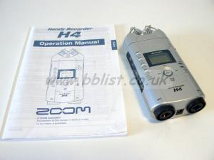 Zoom H4 Digital Recorder