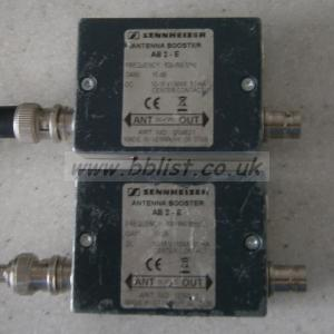 Pair of Sennheiser AB2-E Antenna Boosters
