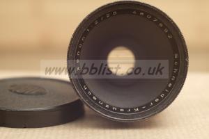 Schneider-Kreuznach xenon 28mm f/2 lens in arri std mount