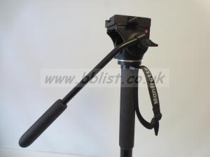 Manfrotto Monopod with head and camera plate