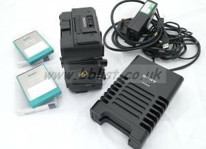 Sony AXS-R5 raw recorder, 2x512gb cards, card-reader