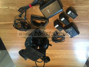 Canon C300 super 35mm video camera with 3 batteries