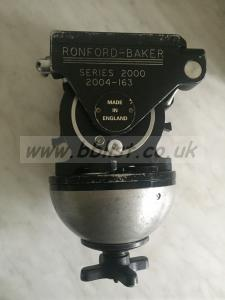 Ronford Baker 2004 Balanced Fluid Head + flight case