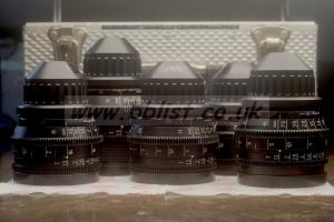 MK3 Zeiss SuperSpeed T1.3 Lens Set w Imperial Scales