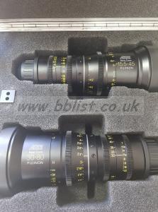 Arri Alura Lenses 15.5-45mm & 30-80mm