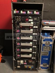Used Avolite Lighting Distribution Rack
