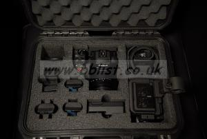 Canon XC15 4k Camcorder+Hard Case+CF2 Cards+Extra Batts.