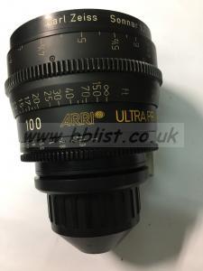 Ultraprime 100mm lens