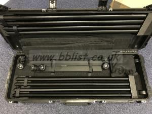 Wally Dolly 4m/13ft Kit in Custom Wheeled Flight Case