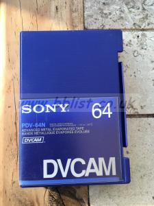 DVCAM Tapes New & Boxed