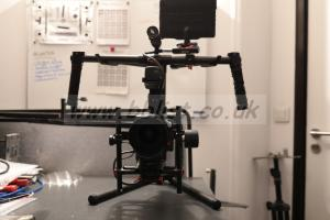 DJI Ronin MX gimbal for camera RED, Arri and reflex DSLR
