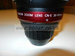 Superb Canon Zoom Lens CN-E 30mm - 105mm