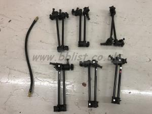 set of 6 Manfrotto Single Arm 2 Section