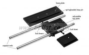 ARRI Bridge Plate BP-6 or BP-7 (For ARRIFLEX SR3 camera)