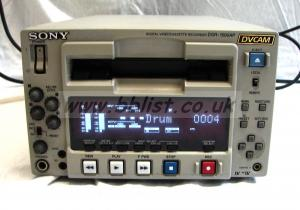 Sony DSR-1500AP DVCAM recorder (Low hours)