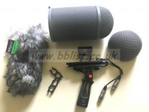 Sennheiser MKH30 + Rycote Stereo Windshield Kit AE