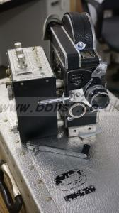 Bolex H16 REX-4 with rare Nikon CFMA time lapse driver.