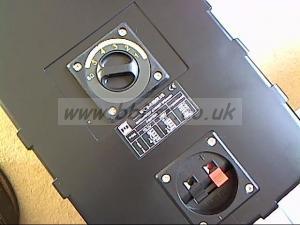 pair indoor/outdoor P.A.speakers.