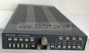 Tektronix WVR-500 Pal Waveform/Vector scope Onscreen