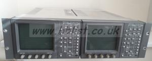 2x Tektronix 601A SDI Waveform/Vector scopes