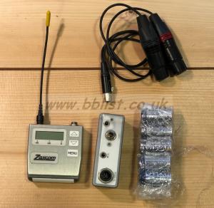 Zaxcom TRX900 (block24) + STA150