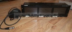 Teletest OZR3580 Triple 16x9 LCD Monitor Rack