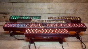 6x Leader Light RGBAW LED Stage Wash Lights