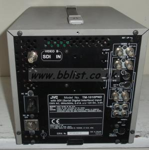 JVC TM-1010PND SDI 10inch Crt Colour Monitor