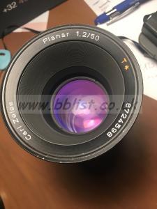 zeiss HS Planar  B speed 50mm 1.2