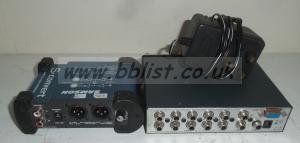 Samson S-Convert and Kramer 5x1 Audio Switcher units
