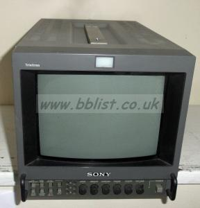 Sony PVM-9042QM 9inch Composite/YUV Video Monitor