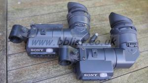two viewfinders for Sony DSR500