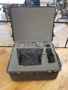 "Autocue Teleprompter 17"" Package with custom Peli case"