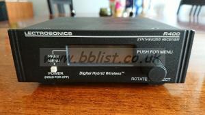 Lectrosonics R400 + LMA Transmitter digital Hybrid Block 26