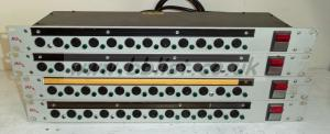 4x Mhz 1u 12 channel Power Distribution Racks