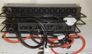 4x Mhz 1u 12 channel Power Distribution Racks