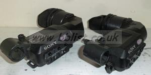 2x Sony DXF-801CE Pal Camera Viewfinders