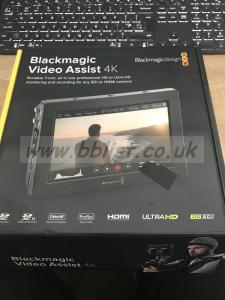 Black Magic Cinema Assist 4K recorder/monitor