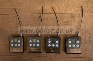 4 X Lectrosonics LT/E01 Block B1