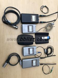 MICRON VHF DIVERSITY RADIO MICS