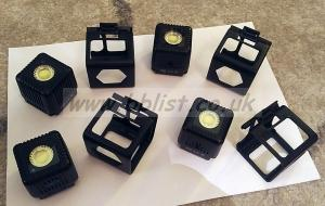 4 LumeCube led lights plus metal protective case + diffusers
