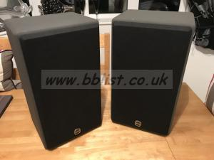 TANNOY NFM8DMT Studio Monitors - Grey Body, Black Grills
