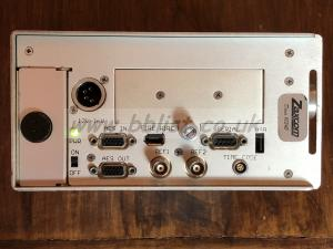 Zaxcom DEVA IV package left side with AES in/out, firewire, ...