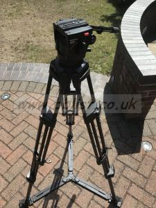 Manfrotto Tripod 503 Head 525MBV Legs Spreader and Bag