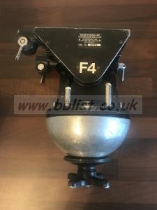 Ronford Baker F4 Fluid Head + flight case