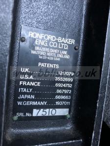 Romford Baker F7 head and case